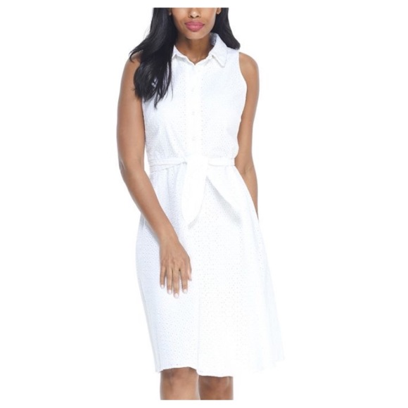 London Times Dresses & Skirts - LONDON TIMES CRAWFORD SHIRT DRESS